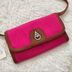 Volcom Pink Get The Picture Wallet